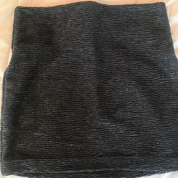 BCBGeneration Dresses & Skirts - BCBGeneration Textured Bodycon Olive Mini Skirt